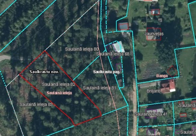 SAULKRASTU, SAULKRASTU - 80